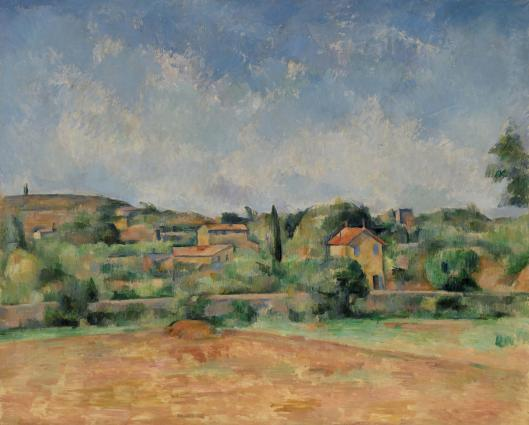 cezanne's the bellevue plain