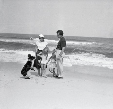 richard nixon at the jersey shore, august 1953