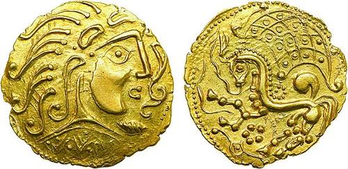 gaul gold objects