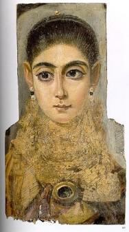 Faiyum Basin mummy portraits third century 1
