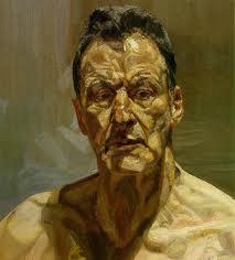 face -- Lucien Freud