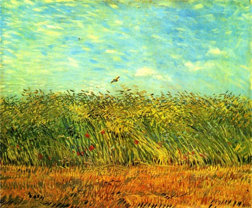 van gogh's wheat-field-with-a-lark
