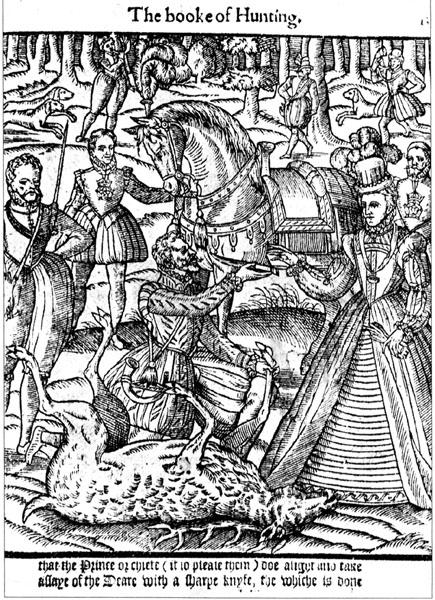 Elizabeth I Hunting