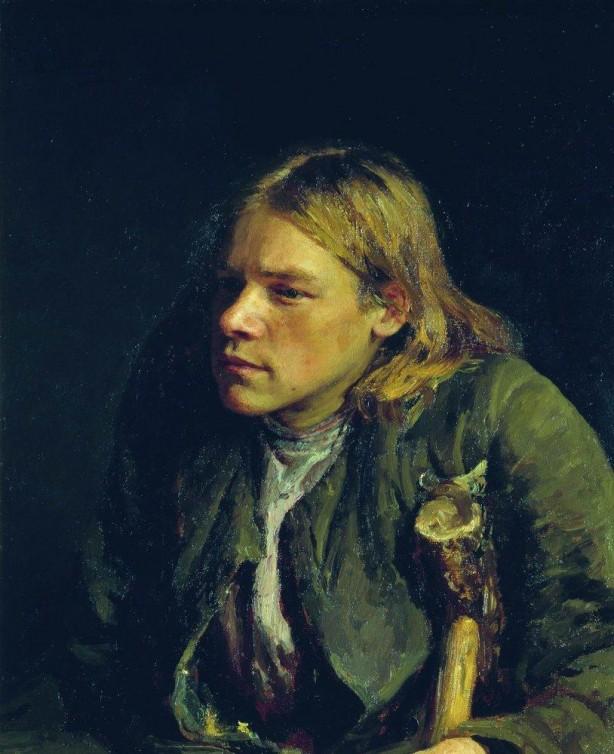 Hunchback by Ilya Repin, 1881