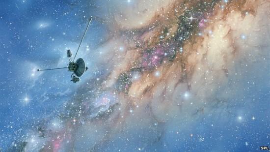 voyager stellar dust cloud