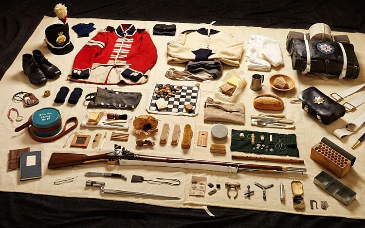 waterloo -- soldier's kit