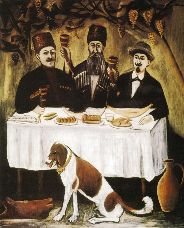 Pirosmani__Feast_of_Three_Noblemen